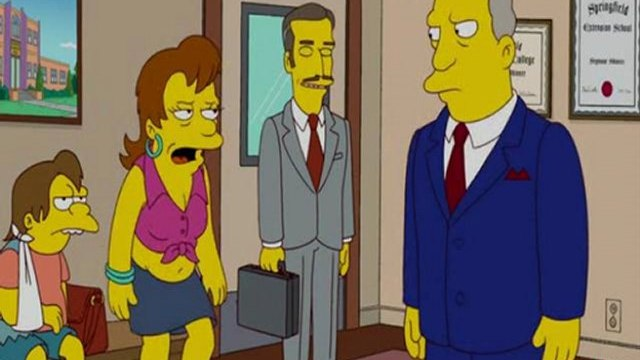 Watch The Simpsons Season 23 Episode 21 Online Ned 'N' Edna's Blend