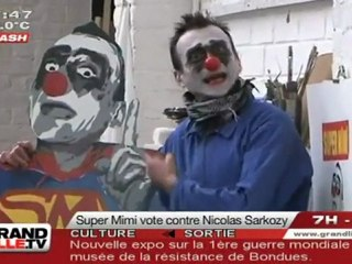 Présidentielles 2012 : Mimi The Clown fait le bilan !