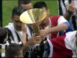 Premiazione Juventus campione d'Italia 2011/2012