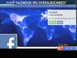 Sources - Facebook IPO oversubscribed
