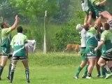 rugby 32ème finale promotion honneur baronnies st bazeille