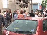 Gilles Poux et la municipalité à la rencontre des habitants