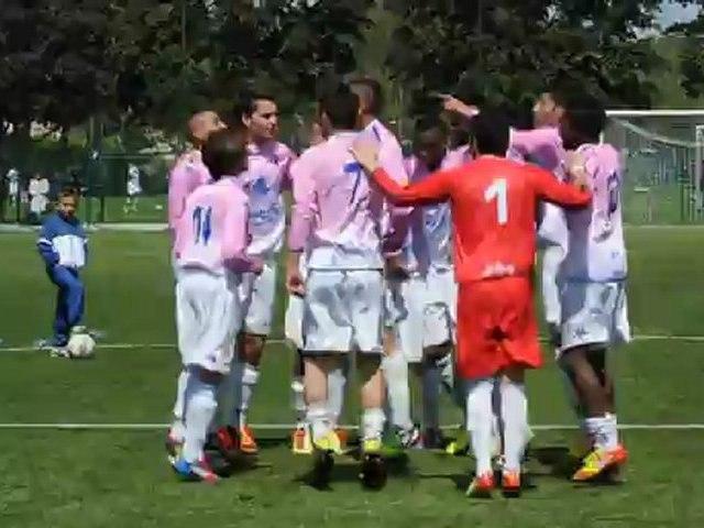 Les U17 de l'ETG FC fêtent leur accession au niveau National face à l'OL (vidéo)