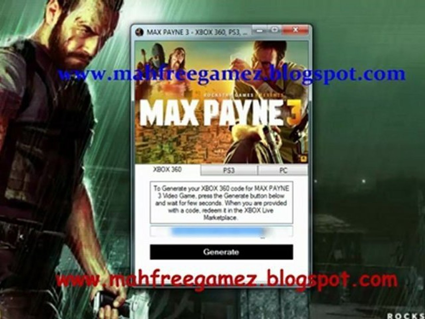 How To Download Max Payne 3 Game On Your Xbox 360 Ps3 Pc