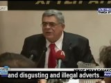 Greek neonazi leader gives Hitler-style speech 2012