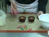 Cuisine : Recette de cupcakes vers de terre