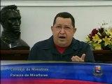 Presidente Chávez aparece en cámara luego de varios días
