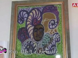 Reportage avec l'artiste peintre Rio Delafeuille