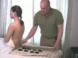 Royalty Free Massage Video Clips - Stones 1