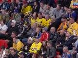 Hockey. 2012.05.15. IIHF World Championship 2012. Gpoup S. Sweden - Latvia. 3-rd period