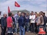 Acerra (NA) -  Continua la protesta dei 230 lavoratori della Simmi (15.05.12)