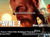 Max Payne 3 Silent Killer Multiplayer Loadout Pack DLC - Xbox 360 - PS3