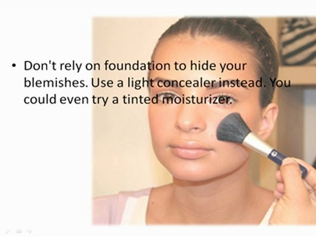 Make Up Tips for Teens