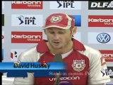 David Hussey post match PC 15May