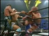 Rey Mysterio,Edge,John Cena vs Eddie Guerrero,Chris Benoit,Kurt Angle at at Smackdown 2002