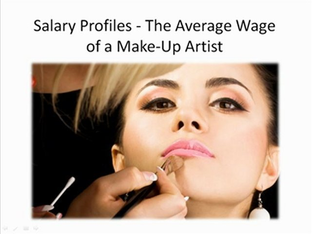 Salary Profiles – The Average Wage of a Make-Up Artist