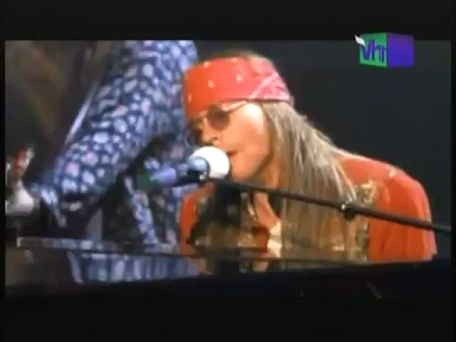 VIDEO KILLED THE RADIO: GUNS N' ROSES