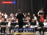 Concert de Printemps de l'Harmonie de l'Ensembe Musical de Lourdes : (12/05/2012)