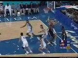 Vince Carter Dunk sur Weis Eurosport