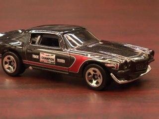 CGR Garage - 1970 CAMARO ROAD RACE Hot Wheels review