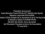 Valérie Fourneyron nouvelle ministre des Sports, de la Jeunesse, de l'Éducation populaire et de la Vie associative