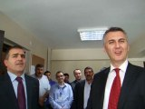 birlikte Akmercan GEPA Doğalgaz Şirketinden İcra Kurulu Başkanı Gazi Akmercan Genel Müdür Yunus Kesgin