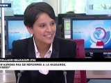 Pourquoi Najat Belkacem renonce aux législatives
