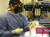 Na sala de cirurgia com o Dr. Rey