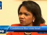 Condoleezza Rice  visita Israel
