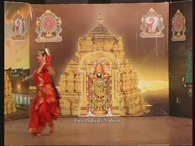 Kuchipudi – Sri Venkateswara Vaibhavam –  Narayanathe Namo Namo – Sri Annmacharya – Behag Ragam