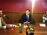 Vendredi 18 mai - législatives 2012 - 4eme circonscription des Pyrénées-Atlantiques - Jean Lassalle à radio Oloron