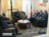 Le Président du conseil d'administration  de la CIB reçu en audience par le Chef de l'Etat