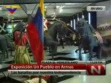 (VÍDEO) Exposición Un Pueblo en Armas, mostrará 94 obras en el Museo Bolivariano de Caracas