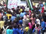 Syria فري برس  درعا أطفال خربة غزالة  أحد التضامن مع محمد الحريري20 5 2012 Daraa