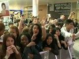 Kim Kardashian mobbed by fans in London
