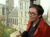 Le public mitigé face à l'espace Monet-cathédrale à Rouen