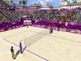 Terrain de Beach Volley de Londres 2012 - Le jeu vidéo officiel des Jeux Olympiques