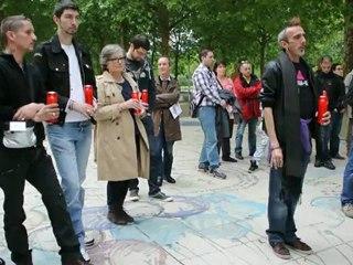 SIDA Candlelight Memorial, Sidaction Patchwork des Noms, Paris, France  DSC_2678