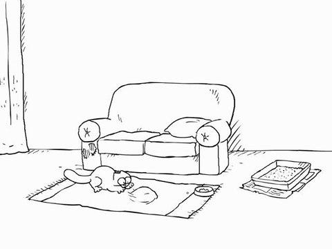 Simon's Cat in 'Double Touble'