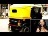 Mallika Sherawat's Revealing Assets Distracts Auto Driver