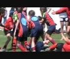 Tournoi de Sanary-Ovalie,Les -9 ans du RCC, résumé du tournoi