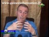 CONFÉRENCE DE PRESSE de Michel Dussuyer, entraîneur du SILY NATIONAL