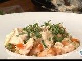 Cuisine : Salade de pâtes au saumon et au mascarpone