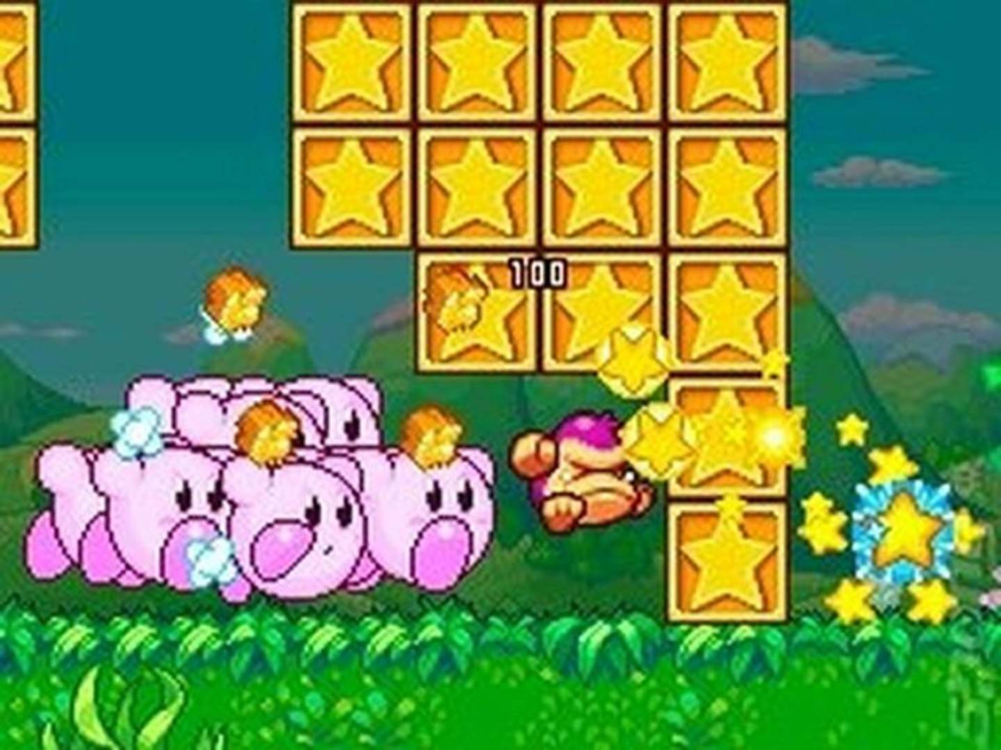 Kirby Mass Attack USA NDS ROM 3DS ROM download link