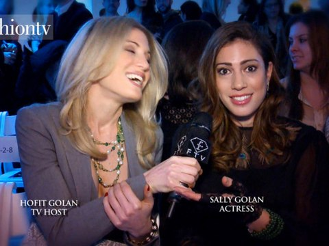 Hofit Golan Interviews Actress Sally Golan | FashionTV