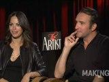 Jean Dujardin & Bérénice Bejo talk 'The Artist'