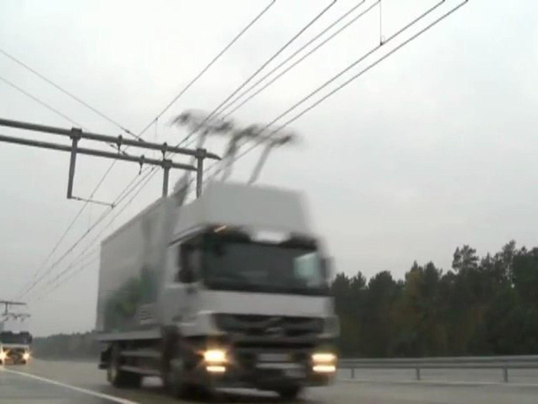 eHighway camion électrique (Siemens)