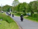 montage photos après midi de la randonnée motos anciennes rétro-mobile club drouais 2012