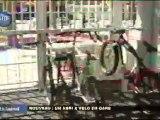 Inauguration d'un abri à vélo (Soisy-sous-Montmorency)