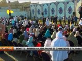 Egypte  Frères musulmans et chrétiens s'activent